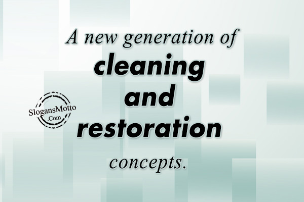 Cleaning Service Slogans Page 3
