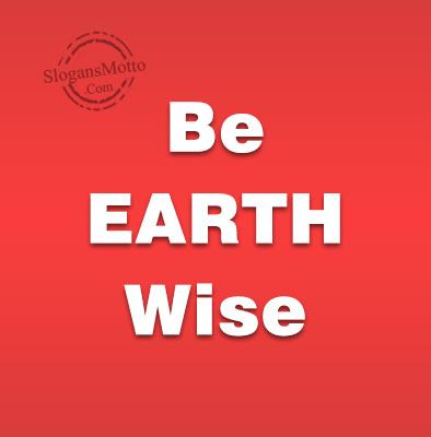 Earth wise singles