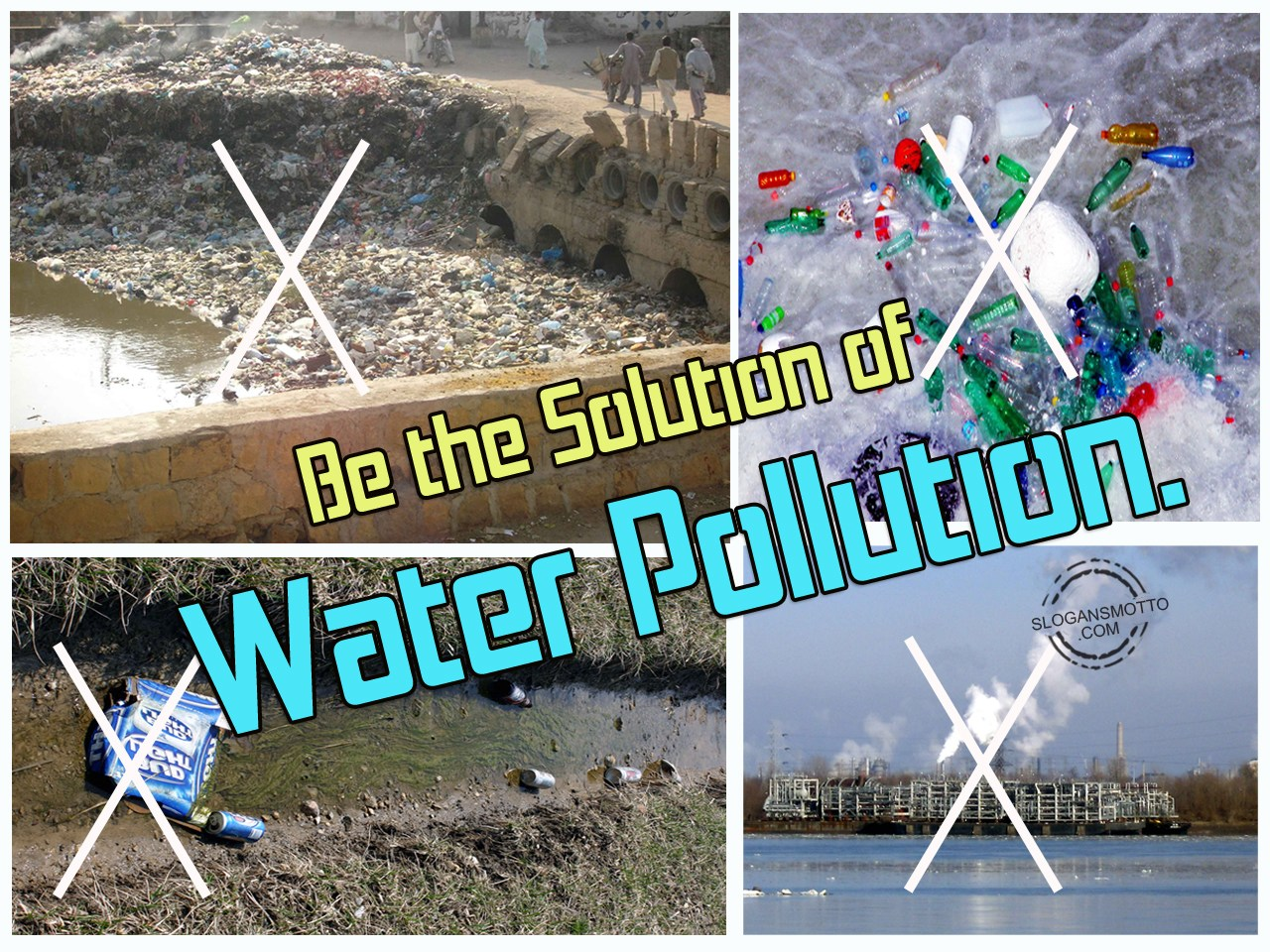 water pollution slogans Upon investigating the havelock north water poisoning i was  he was running  for office for the first time under the slogan can the dam.