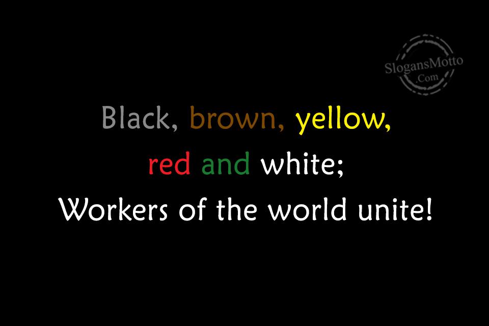 Anti Racism Slogans