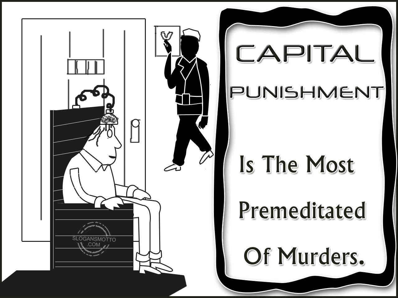 capital punsihment Sample essay topic, essay writing: capital punsihment - 777 words capital punishment there once was a man, long ago, that was sentenced to death for crimes the.