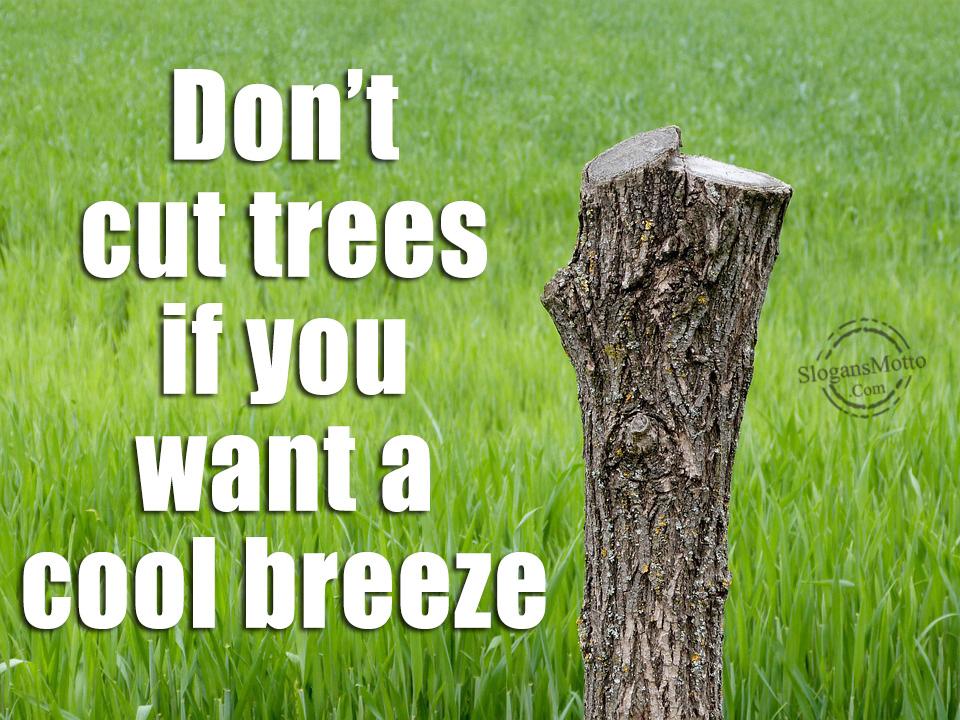 save paper save trees slogan