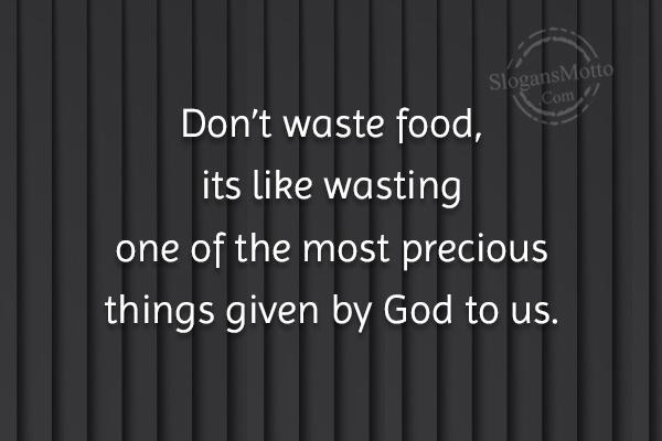 Taste it dont waste it 5