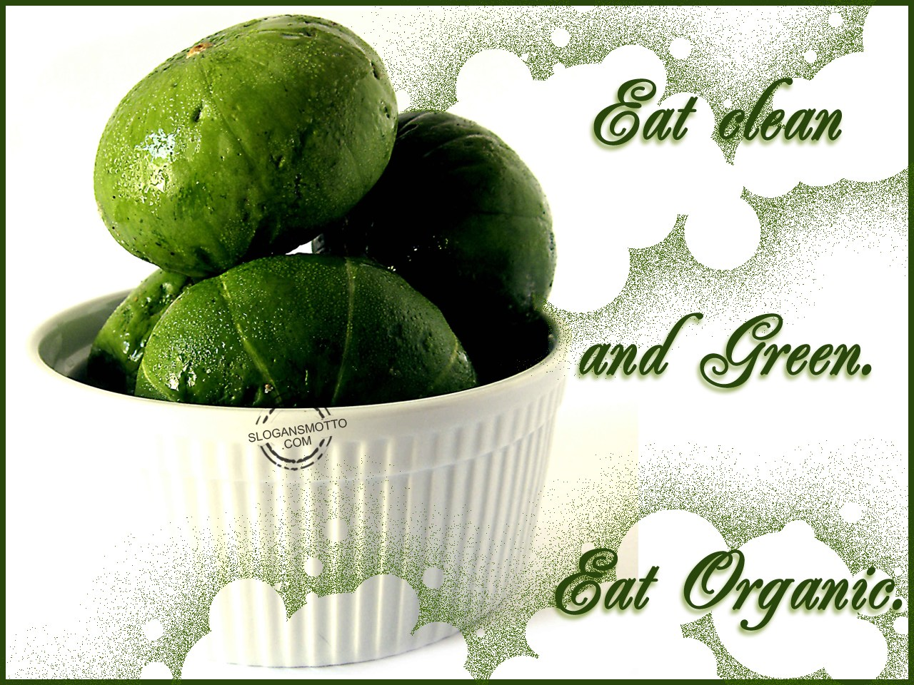 Organic Food Slogans