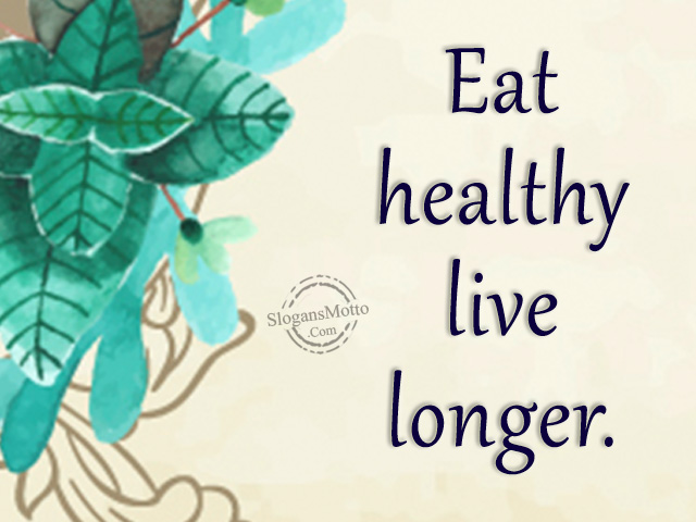 Junk Food Vs Healthy Food Slogans