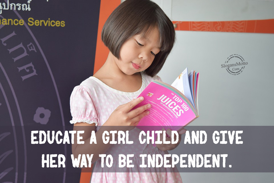 quotes on educating a girl child