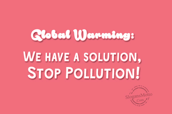 about global warming in english