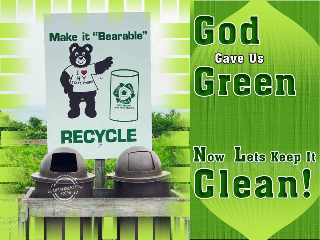 how to make our city clean and green Help your local schools conduct recycling drives and clean-up projects create a beautiful green space by planting trees and shrubs in an area in need of improvement ask local businesses to adopt-a-spot and take care of it.