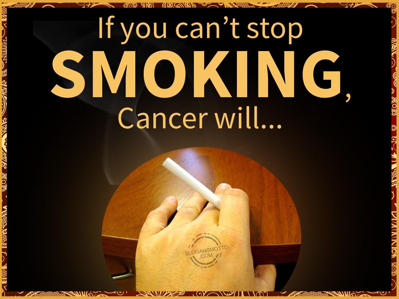 Anti Smoking Slogans - Page 2