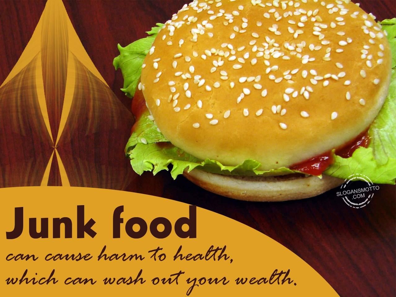 Junk Food Kills