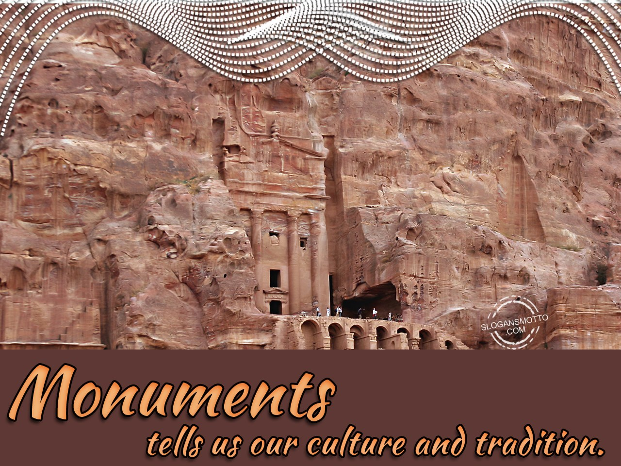 Monuments Tells Us Our Culture N Tradition