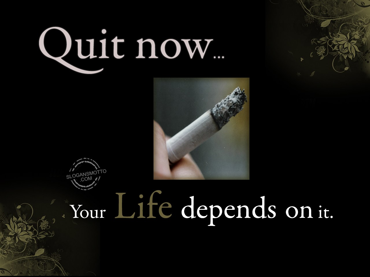 Anti Smoking Slogans