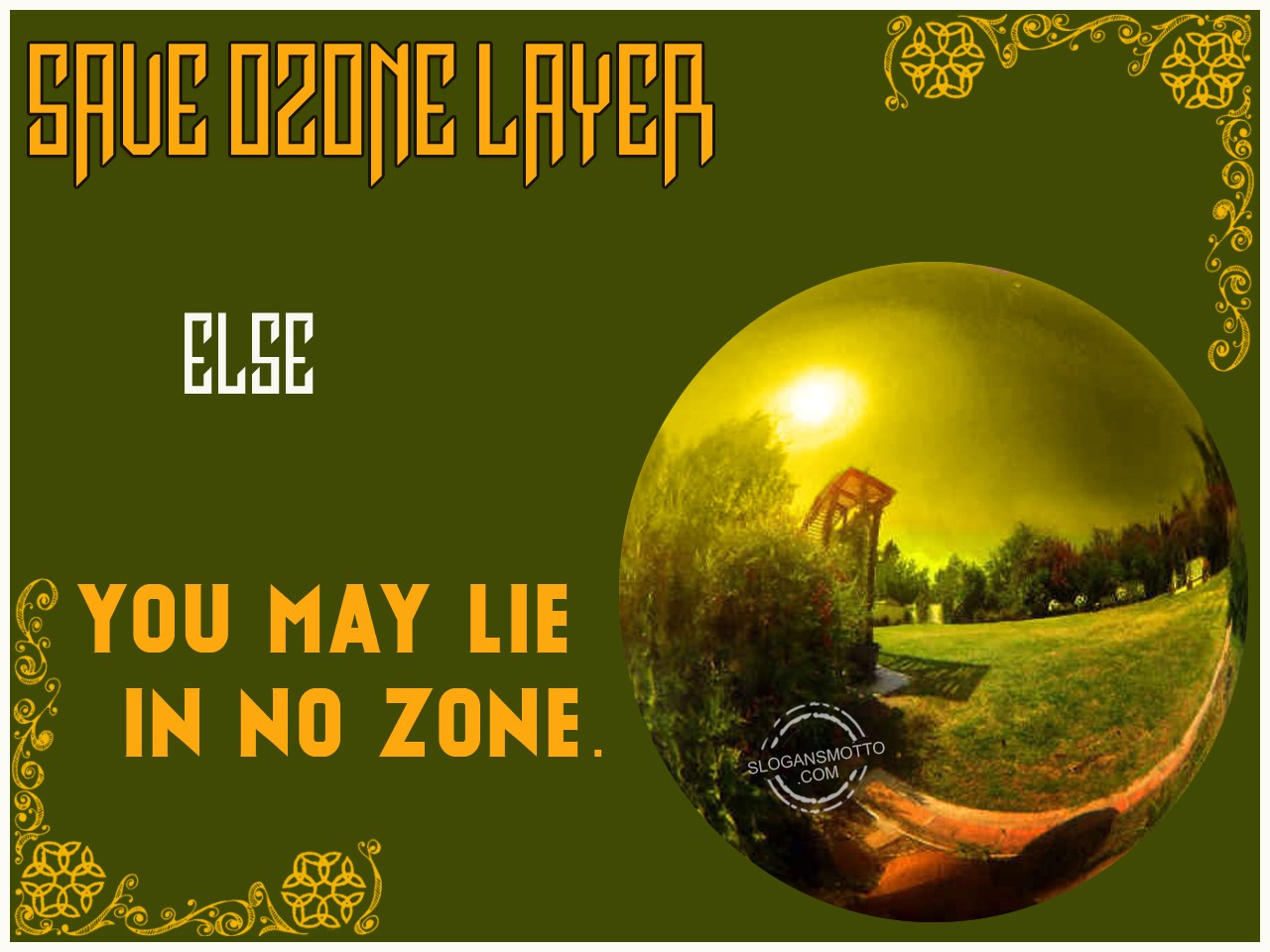 Ozone Layer Slogans