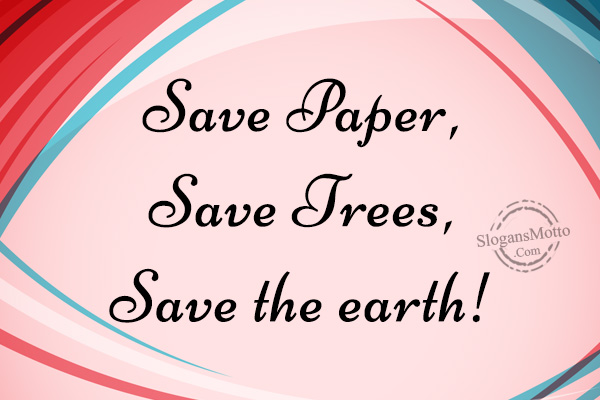 ways to save paper