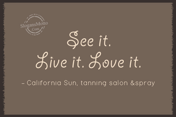 Salon slogans page 10 for A touch of gold tanning salon