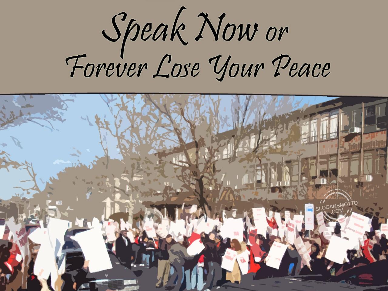 Anti War Slogans