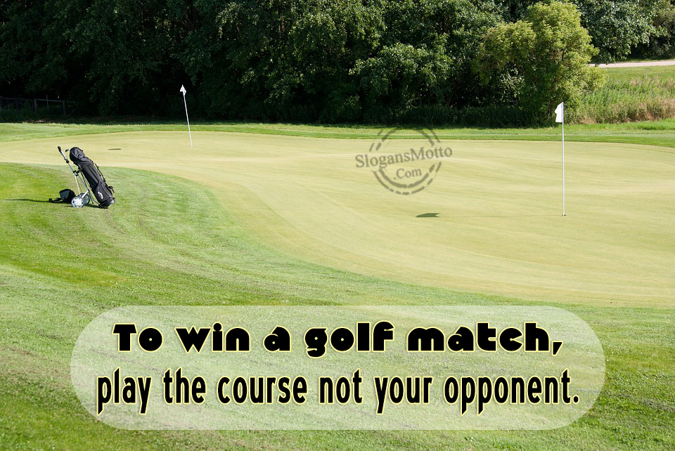 how to win match play golf