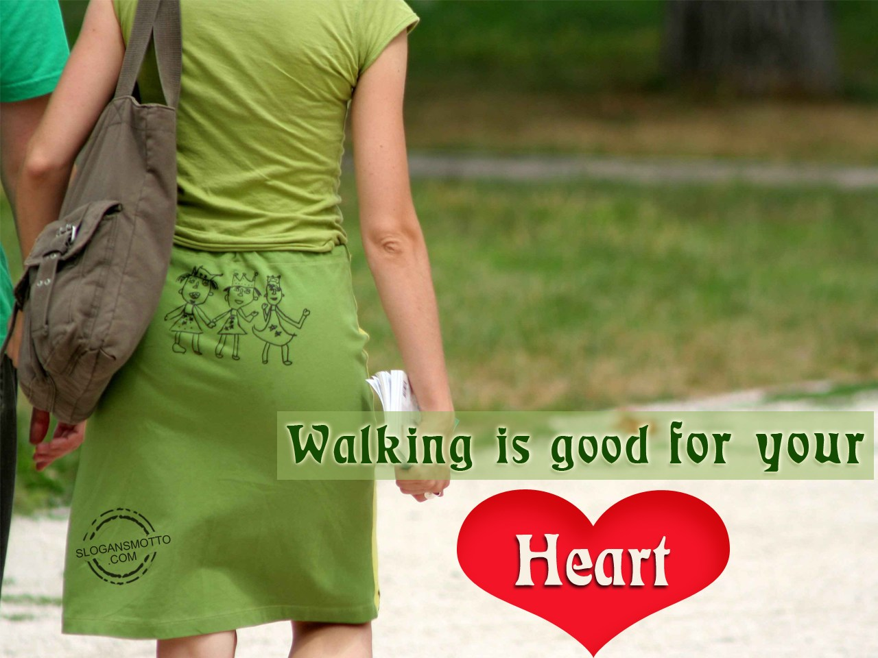Heart Walk Slogans