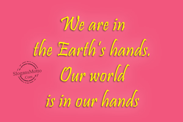our world is in our hands Future in our hands – usa, is dedicated to more equitable use of world  resources fioh-usa raises funds to support education, health care, sanitation  and to.