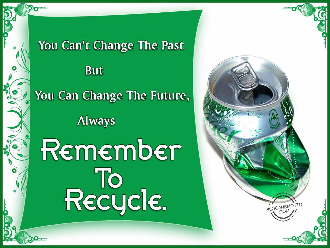 Recycle Slogans and Sayings