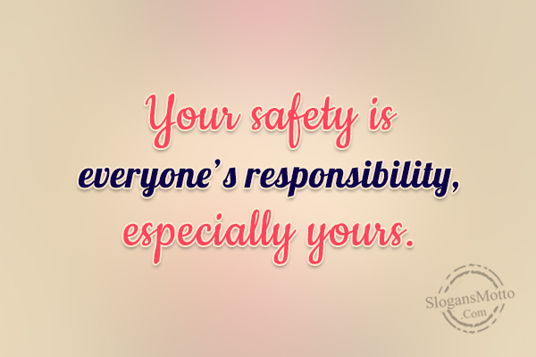 Workplace Safety Slogans - Page 6